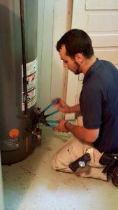 emergency plumbing service basin pocket